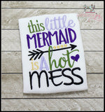 This Little Mermaid is a Hot Mess