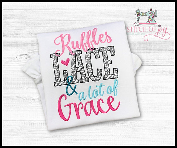 Ruffles Lace and Grace