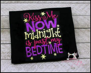 Kiss Me Now Midnight is Past My Bedtime