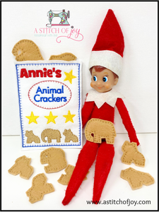 Elf Animal Crackers Set