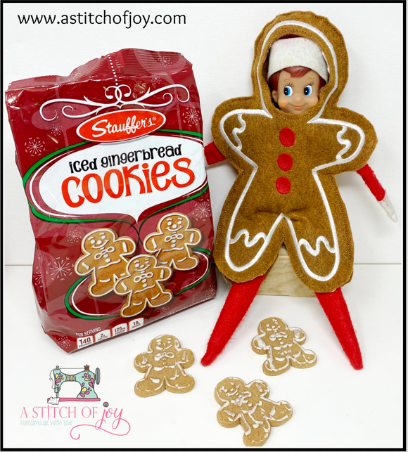 Elf Gingerbread Man Costume