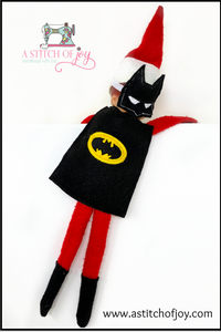 "Elf Superhero ""Bat"" Costume"