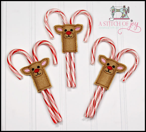 Reindeer Candy Cane Sliders