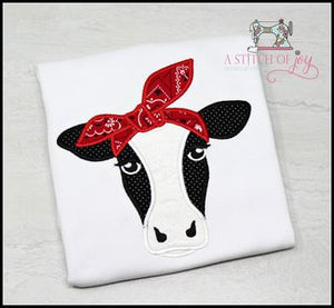 Cow with Bandanna