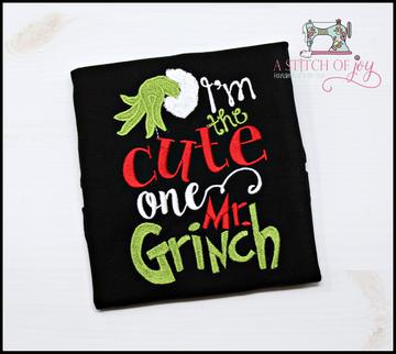 I'm the Cute One Mr. Grinch