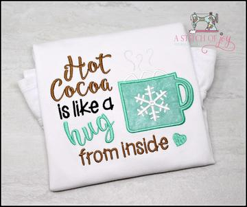 Hot Cocoa is a Hug from Inside