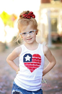 Patriotic Heart Shirt