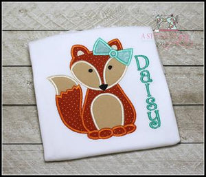 Girly Fox with Bow