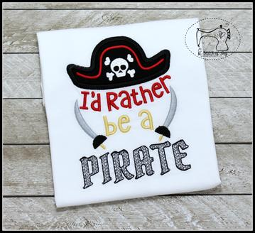 I'd Rather Be a Pirate