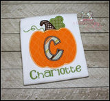 Personalized Pumpkin Shirt