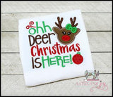 Oh Deer Christmas is Here