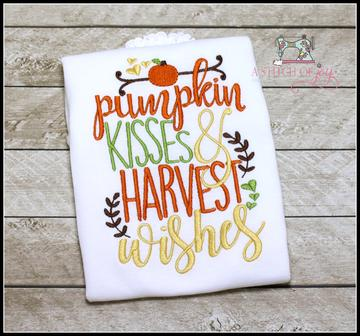 Pumpkin Kisses & Harvest Wishes