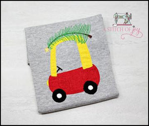 Cozy Coupe Car with Tree