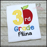 Preschool thru 3rd Grade Split Apple Shirt