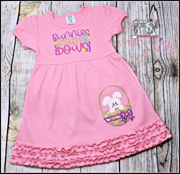 Bunnies Baskets & Bows Dress
