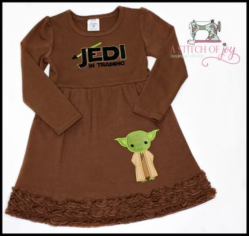 Jedi in Training Embroidered Dress