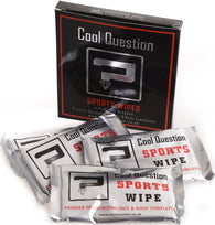 Individually Wrapped Sports Face & Body Cotton Wipes