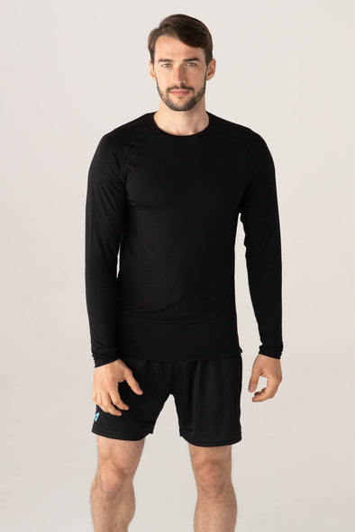 edge long sleeve - black