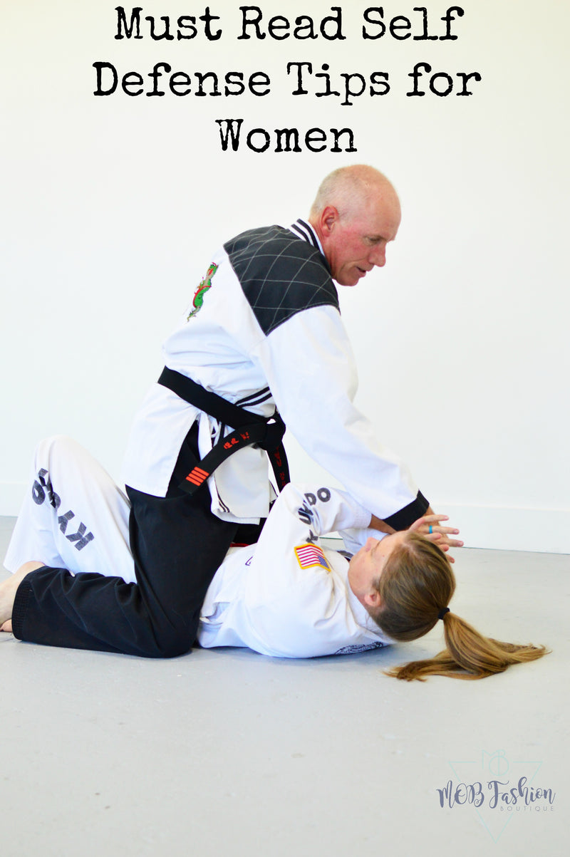 Must Read Self Defense Tips for Women