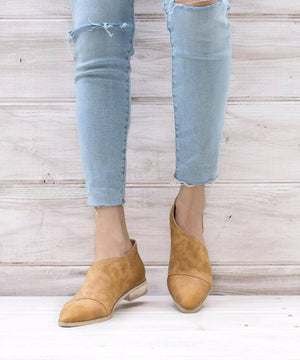 Freya Booties in Camel - MOB Fashion Boutique