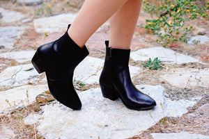 Midnight Booties in Black - MOB Fashion Boutique