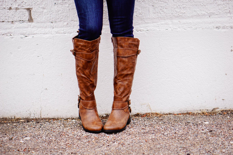 Jennie Boots in Deep Taupe - MOB Fashion Boutique