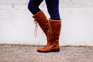 The Tosha Boot in Camel - MOB Fashion Boutique