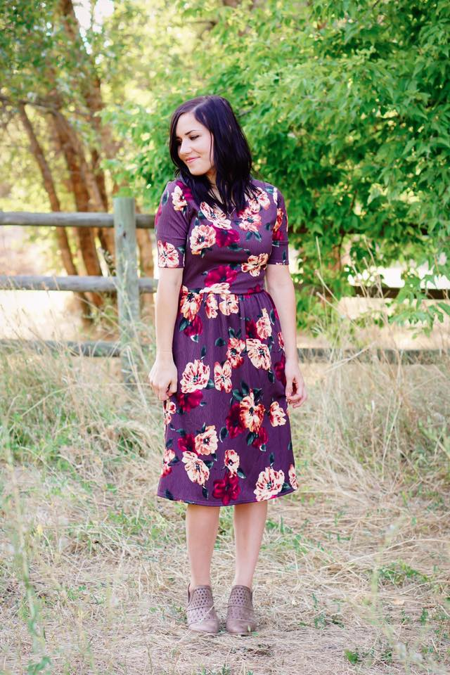 Perfectly Plum Fall Swing - MOB Fashion Boutique
