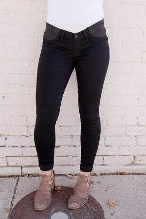 Maternity Denim in Black - MOB Fashion Boutique