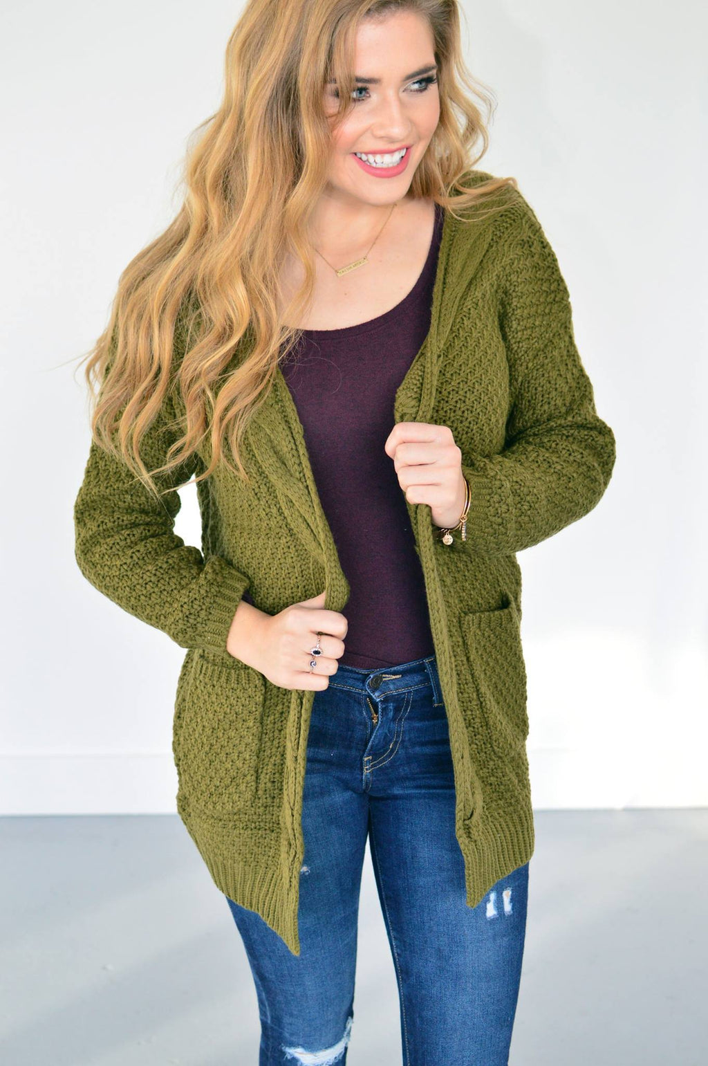 Knit Grandma Cardi (3 Colors!!) - MOB Fashion Boutique