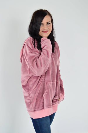 The Dream Hoodie in Mauve - MOB Fashion Boutique
