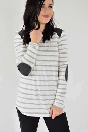 Always Stripes Top - MOB Fashion Boutique