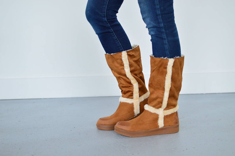Marshmallow Ugg Style Boots (2 Colors) - MOB Fashion Boutique