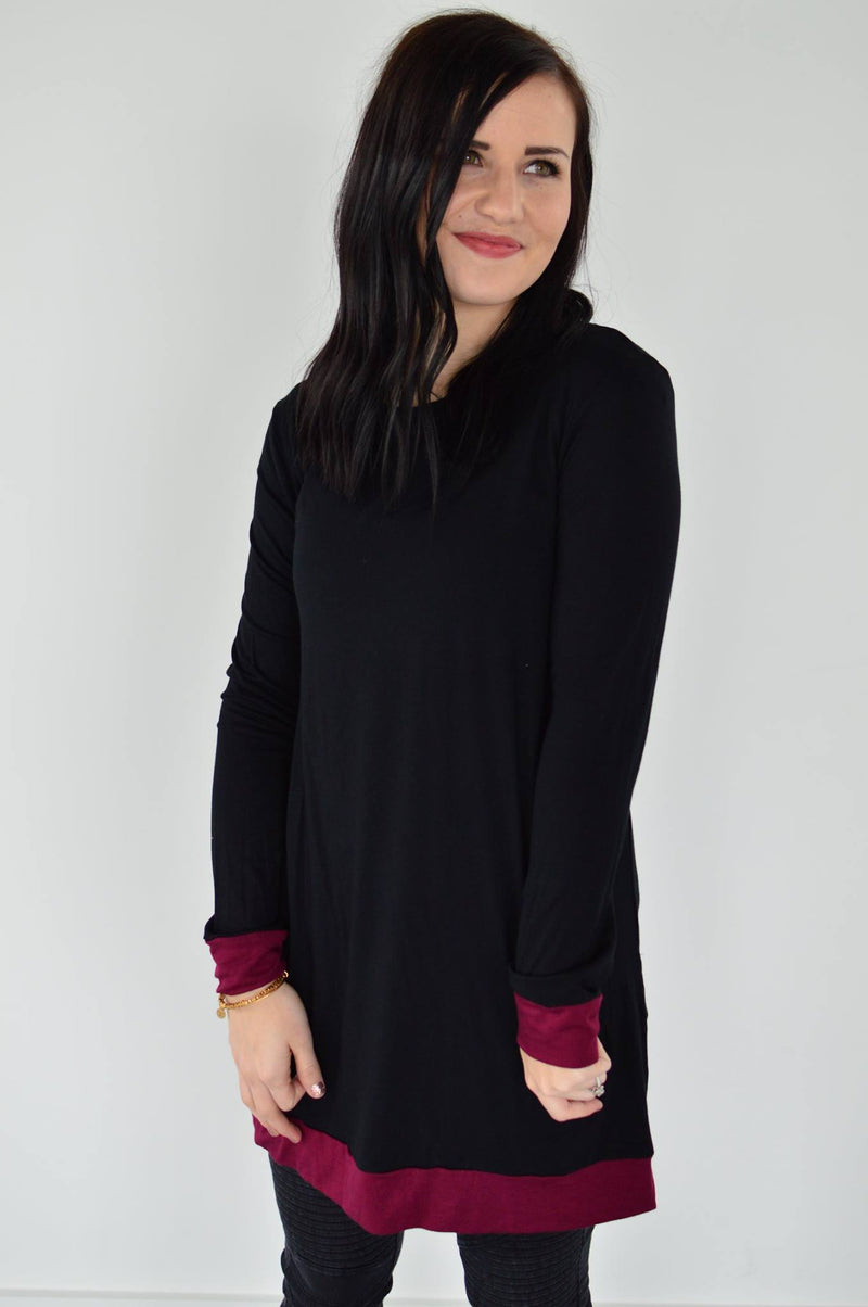 Katie Tunic Top - MOB Fashion Boutique