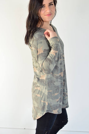 Criss Cross Camo - MOB Fashion Boutique