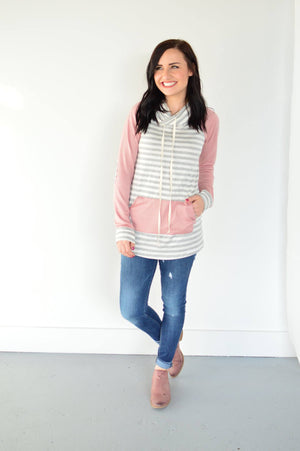 The Stella Pullover | Blush - MOB Fashion Boutique