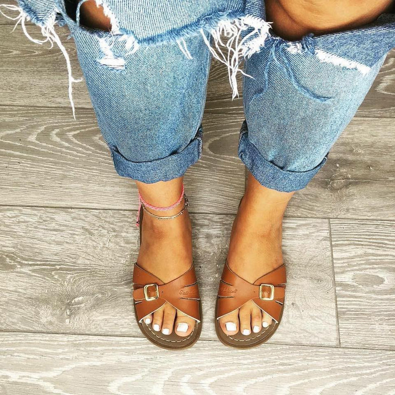 Salty Slides | Tan - MOB Fashion Boutique