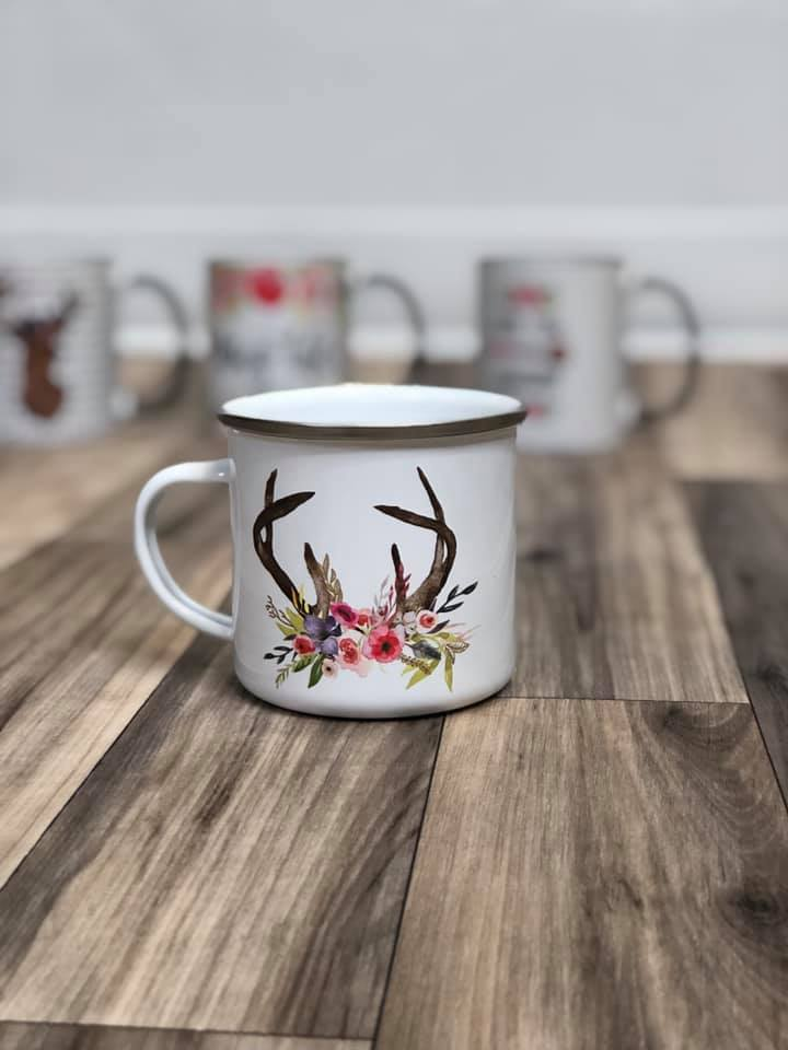 10 oz. Camp Mugs | Multiple Options - MOB Fashion Boutique