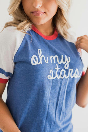 Oh My Stars Tee - MOB Fashion Boutique