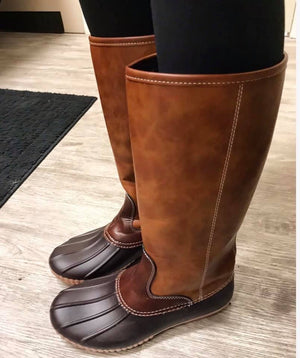 Knee High Duck Boots - MOB Fashion Boutique