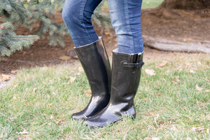 Hunter Inspired Rain Boots - MOB Fashion Boutique