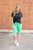 Bermuda Leggings | Mint - MOB Fashion Boutique
