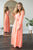 Wrap Dress | Hot Coral - MOB Fashion Boutique