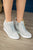 Zoey Wedge Sneaker | Grey - MOB Fashion Boutique