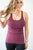 Deceptively Delicious Athletic Tank | Plum - MOB Fashion Boutique