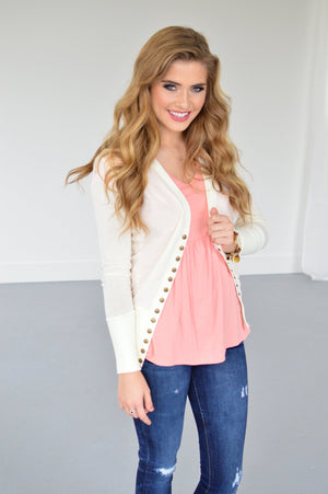 Every Day Snap Cardi | 6 Colors! - MOB Fashion Boutique