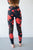 Red Floral Athletic Set - MOB Fashion Boutique