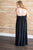 One Night Out Maxi Dress | Black
