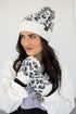 C.C. Beanie and Glove Leopard Set | Two Colors!