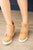 Zoey Wedge Sneaker | Camel - MOB Fashion Boutique